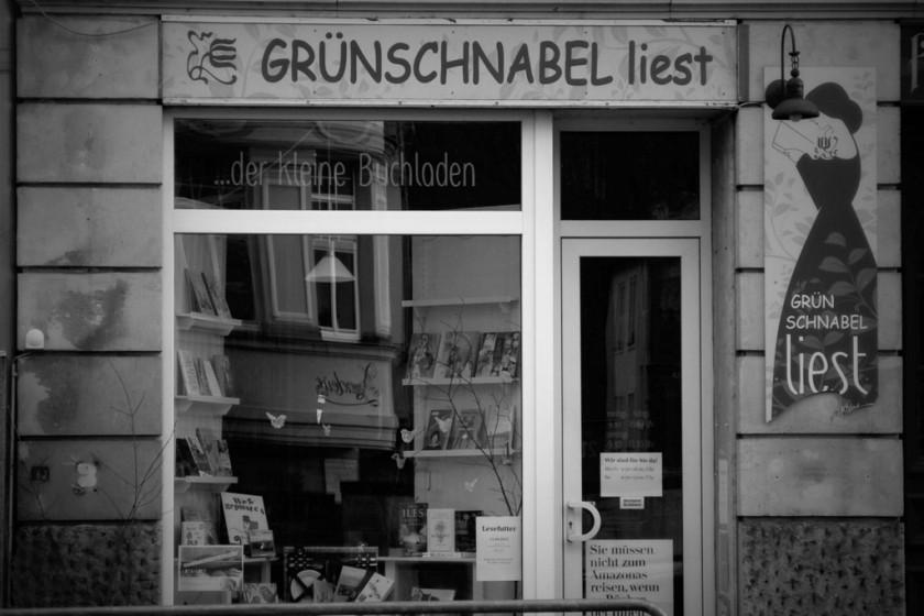 Grünschnabel liest Buchhandlung Dresden / Weißer Hirsch