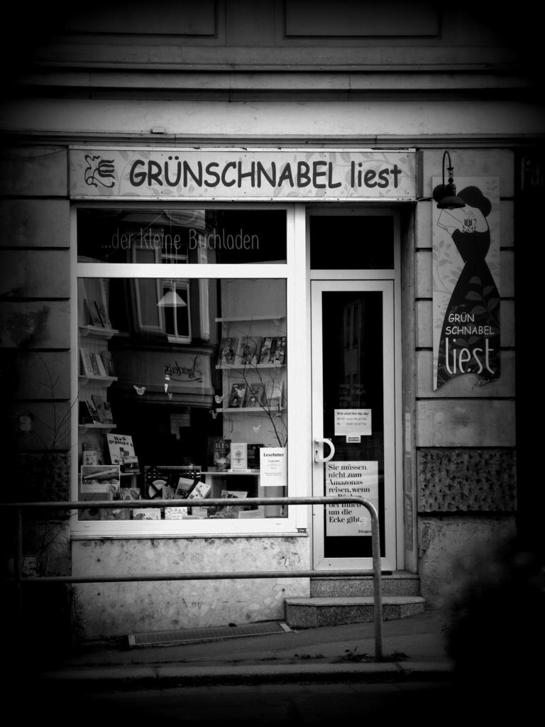 Grünschnabel liest - Buchhandlung Dresden /Weißer Hirsch